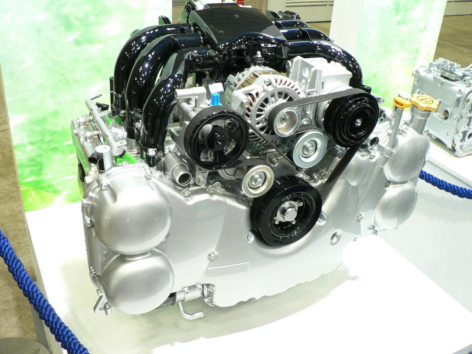 Big Subaru Engines – the 6-cylinder engines – ER27, EG33, EZ30D, and EZ36D