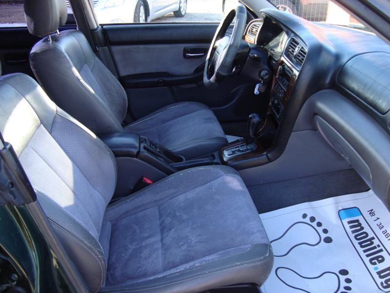Subaru Outback 2002 Interior