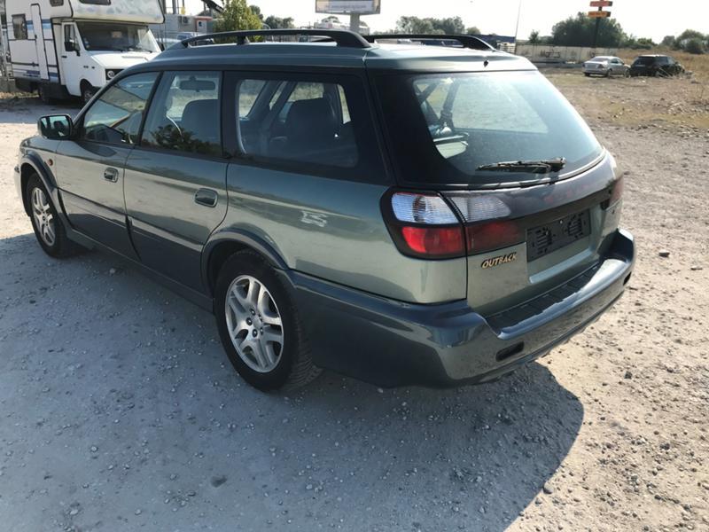 Subaru Outback 2002 Rear Left