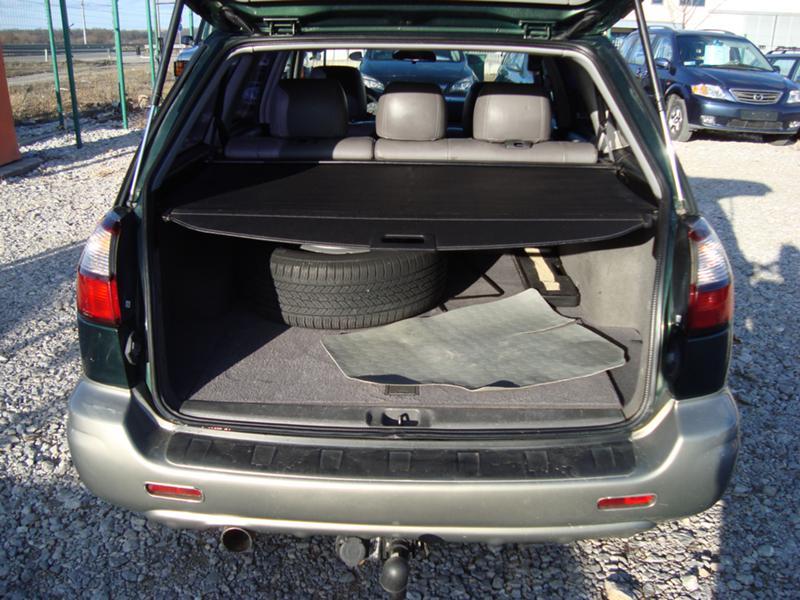 Subaru Outback Trunk